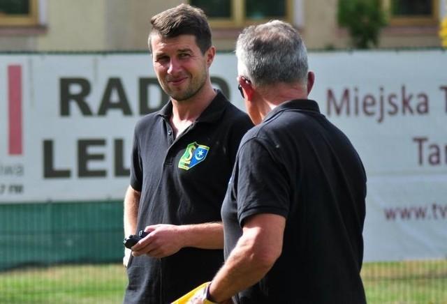 Maciej Wojnar jako asystent trenera Włodzimierza Gąsiora