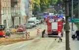 Pożar sklepu Słonko w Katowicach. Z kamienicy w Dąbrówce Małej ewakuowano 23 osoby
