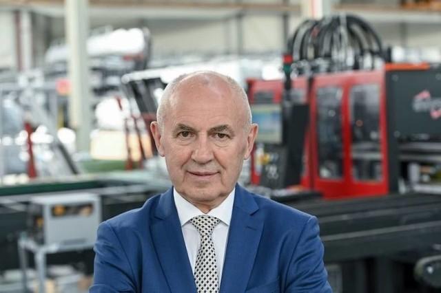 Leszek Gierszewski, prezes Druteksu Filantropem Roku Forbesa.