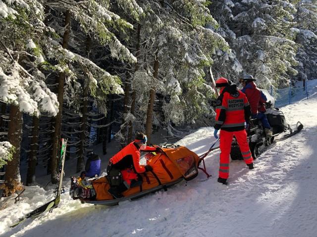 Do tragicznego wypadku narciarza doszło w poniedziałek 15 lutego na Pilsku w Korbielowie