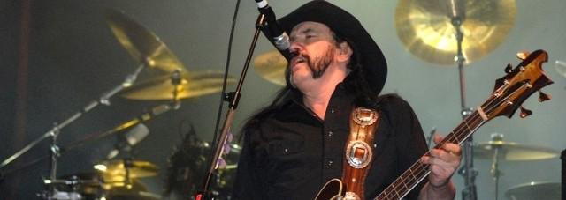 Lider zespołu Motorhead - Lemmy Kilmister