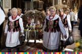 Dożynki Wojewódzkie w Dąbrowie Białostockiej. Podlascy rolnicy podziękowali za zebrane plony (zdjęcia)