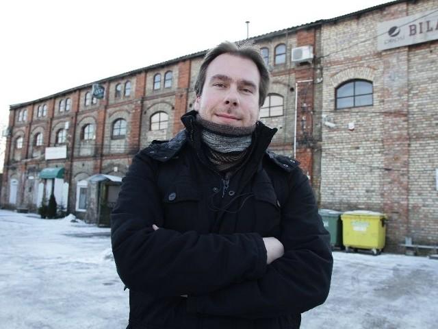 Stojący do dziś budynek przy ul. Jurowieckiej powstał prawdopodobnie tuż przed 1914 rokiem – mówi Wiesław Wróbel. – Charakterem i formą przypomina zbudowane również w tym okresie hale fabryczne przy ul. Włókienniczej.