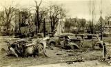 Księżycowy krajobraz. Tak wyglądał Kostrzyn w marcu 1945 r. Miasto zostało niemal starte z powierzchni ziemi