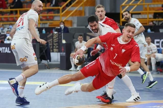 Dziś, 19 stycznia, o godzinie 20.30 mecz Polska - Brazylia. Na zdjęciu reprezentant Polski, Patryk Walczak.