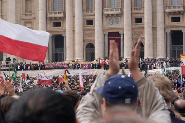 Pogrzeb papieża Jana Pawła II - 8 kwietnia 2005.