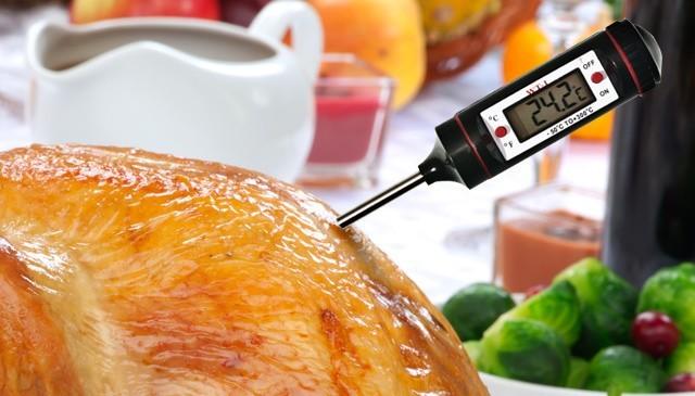 Termometr do potrawTermometr do potraw wygląda, jak szpikulec z wyświetlaczem lcd.