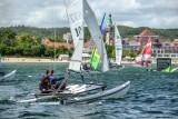 Sopot Catamaran Cup 2020. Parada katamaranów na rozpoczęcie regat. W niedzielę drugi dzień rywalizacji! [ZDJĘCIA]