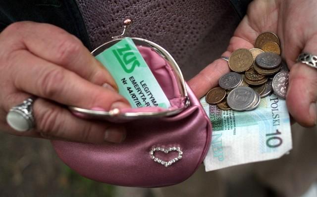 ZUS: Waloryzacja rent i emerytur
