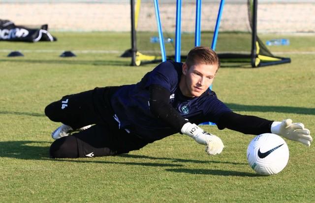 Kacper Chorążka - były zawodnik Wisły Kraków, obecnie Omonii Nikozja