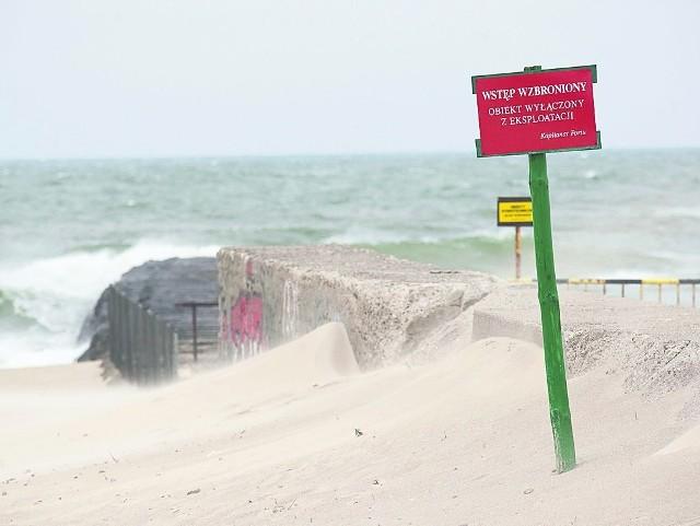 Po wypadku Kapitanat Portu zamontował dodatkowe czerwone tablice ostrzegawcze.
