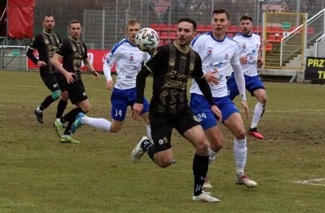 Piotr Giel to zawodnik, który w marcu zdobył trzy bramki dla Bytovii Bytów