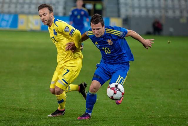 W dwóch pierwszych spotkaniach eliminacji Ukraina zgromadziła zaledwie dwa punkty