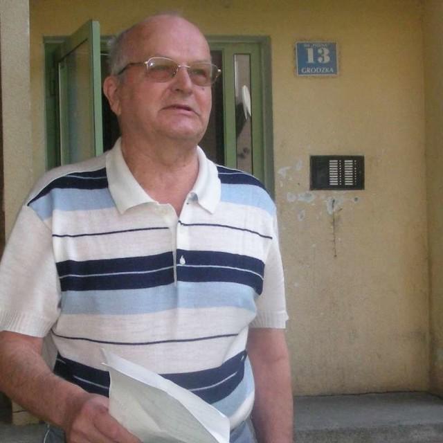 - Pod skargą do spółdzielni na tę panią podpisało się 35 lokatorów - mówi Władysław Gancarz.
