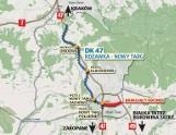 Podhale: Czy GDDKiA wybuduje nową drogę do Białki Tatrzańskiej? [MAPA]