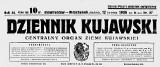 """""""Dziennik Kujawski"""" z 12 kwietnia 1936 r. Tak 84 lata temu inowrocławianie  ogłaszali się w gazecie [zdjęcia]"""