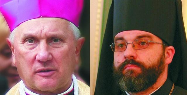 Życzenia świąteczne składa abp Jakub i abp Edward Ozorowski.