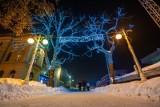 Krynica-Zdrój gotowa na ferie zimowe. Zobacz, jak malowniczo wygląda uzdrowisko