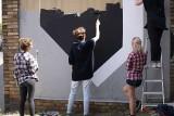 Nowy mural powstaje przy Grunwaldzkiej