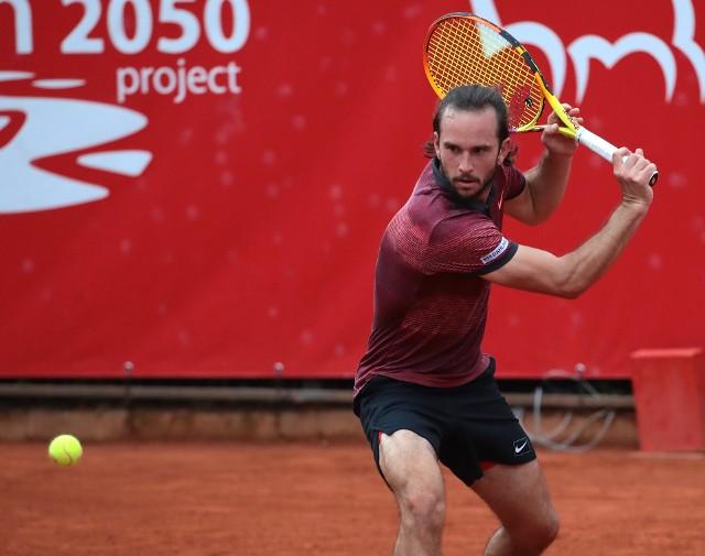 Paweł Ciaś rozegrał kolejny dobry mecz i zagra w ćwierćfinale Pekao Szczecin Open.