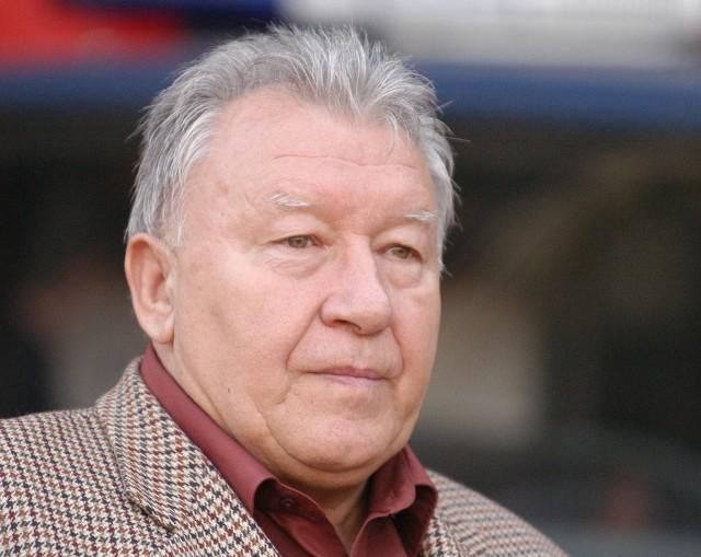 Wojciech Łazarek, były trener Wisły Krakow