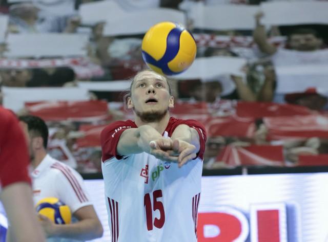 Jakub Kochanowski, środkowy Asseco Resovii jest najmłodszym zawodnikiem w polskiej drużynie. W sobotę 17 lipca skończy 24 lata