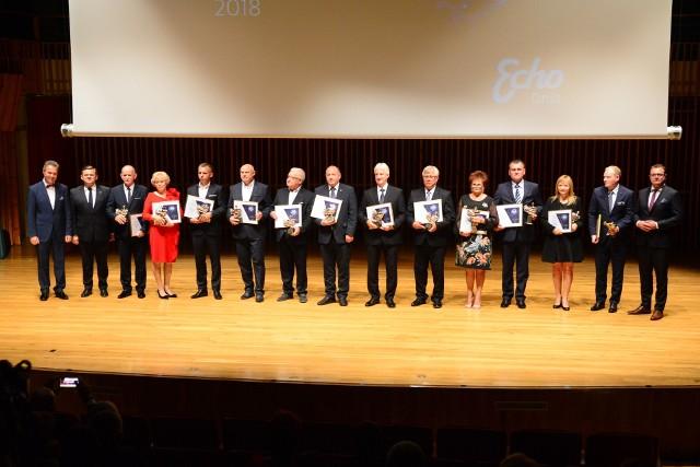 Liderzy Regionu 2018 podczas Gali w Zespole Szkół Muzycznych odebrali nagrody w corocznym konkursie Echa Dnia.