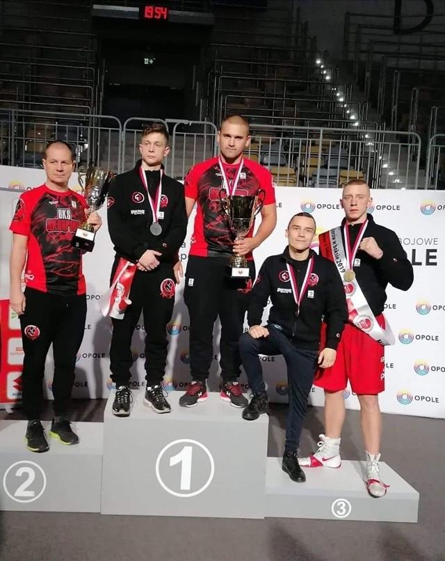 Drużyna Skorpiona Szczecin podczas mistrzostw Polski w Opolu.