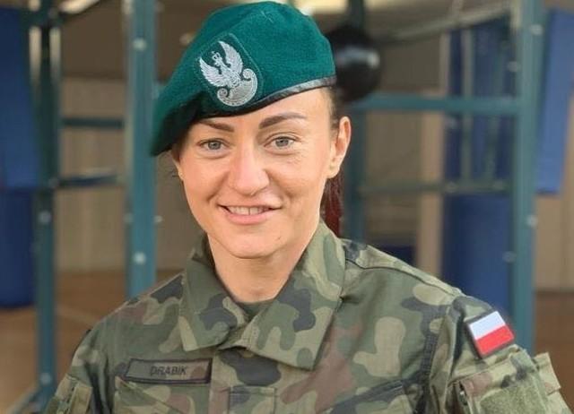 Sandra Drabik jest częścią Centralnego Wojskowego Zespołu Sportowego Poznań.