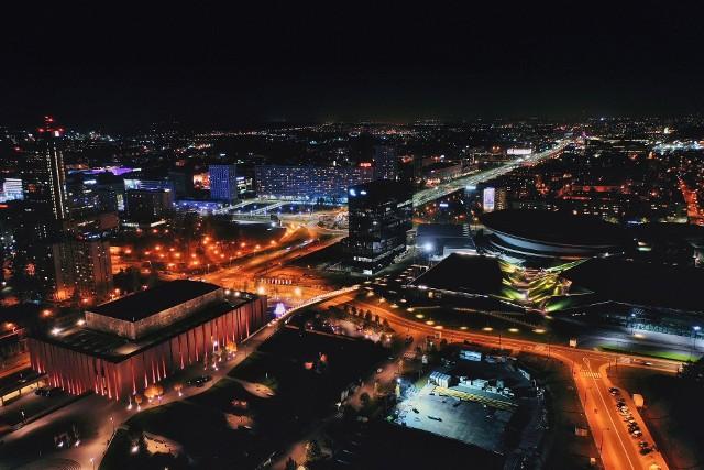 Na następnych zdjęciach: największe budynki biurowe w Katowicach w 2020 roku