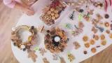 Świąteczne ozdoby robione własnoręcznie [wideo]