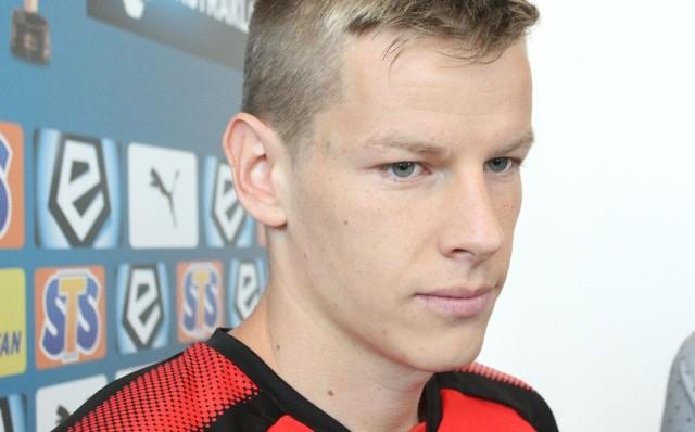 Jakub Żubrowski żałował, że Korona nie otworzyła wyniku w meczu z Piastem.