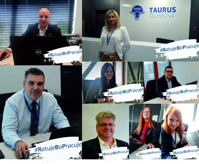Pracownicy toruńskiej firmy Taurus Ochrona