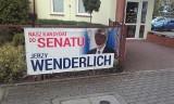 W Ciechocinku zniszczono banery wyborcze Jerzego Wenderlicha [zdjęcia]