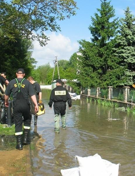 W Głogowie najbardziej zalana przez Odrę była jedna z ulic na tzw. międzyodrzu. Największe straty poniósł właściciel jednego domu.