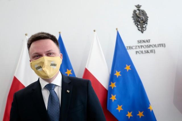 Szymon Hołownia: Jesteśmy częścią opozycji, która chce walczyć. My chcemy nowej polityki