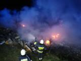 Pożar dzikiego wysypiska w Karpowiczach, a potem ogień w Suchowoli (zdjęcia)