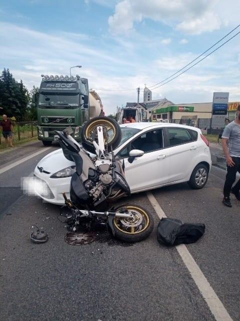 Piątkowy wypadek na ulicy Lwowskiej w Sandomierzu