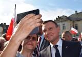 Prezydent Duda w Radzyniu Podlaskim. Polonez, okrzyki i brawa (ZDJĘCIA, WIDEO)