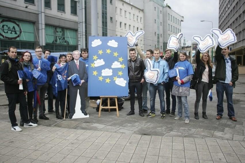 Podróżujący po Europie bus młodzieżówki EPL zawitał do...