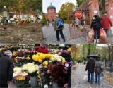 Ruch na cmentarzach we Wrocławiu [ZDJĘCIA, BIEŻĄCA SYTUACJA]