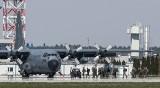 Lockheed C-130 Hercules na lotnisku w Jasionce. To największy wojskowy transportowy samolot w służbie polskich sił zbrojnych [ZDJĘCIA]