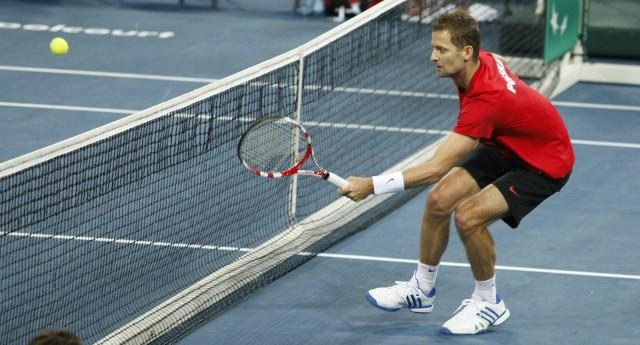 W 2011 roku Mariusz Fyrstenberg (na zdjęciu) i Marcin Matkowski dotarli w deblu do finału US Open