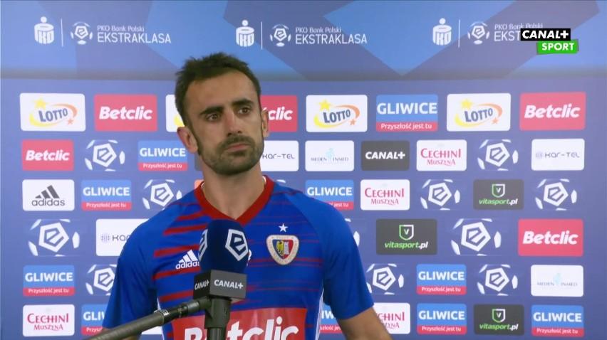 Gerard Badia udzielił niezwykle szczerego wywiadu po meczu Piast Gliwice - Lech Poznań