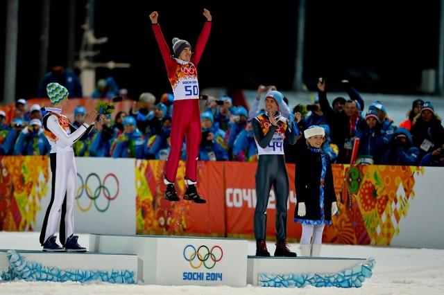 Kamil Stoch zdobył olimpijskie złoto