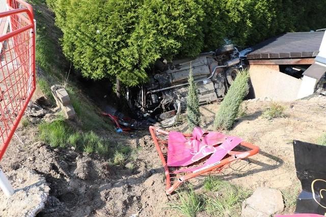 Wypadek w Jastrzębiu przy ulicy 11 Listopada