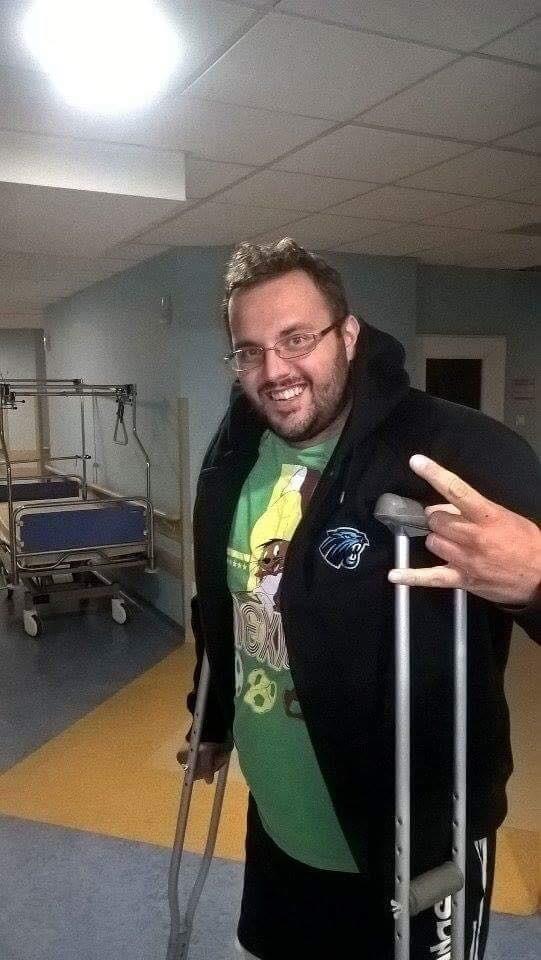 Michał Zuba wraz z żoną Anną powracają do zdrowia po wypadku