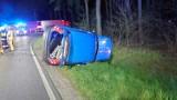 Wypadek na skrzyżowaniu w Bukowcu, na drodze między Opalenicą a Nowym Tomyślem. Są ranni