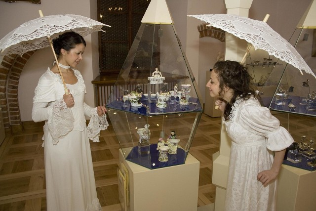 Podczas różnych muzealnych wydarzeń solniczki można oglądać w niecodziennym towarzystwie