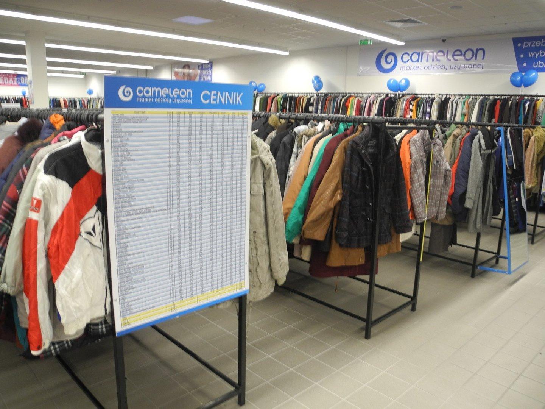 11563785c0 Cameleon - potężny sklep z markową odzieżą używaną otwiera się w  Białymstoku br